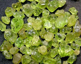 50 CTS PERIDOT ROUGH (PARCEL)  FN 2104  (LO-GR)