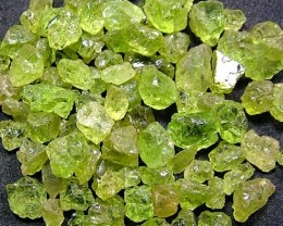 50 CTS PERIDOT ROUGH (PARCEL)  FN 2113  (LO-GR)