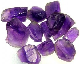 AMETHYST NATURAL ROUGH (PARCEL)  25 CTS FN 2267  (LO-GR)