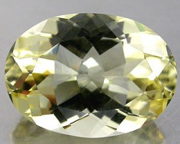 ANDESINE LABRADORITE YELLOW 11.35 CARAT WEIGHT OVAL CUT GEM