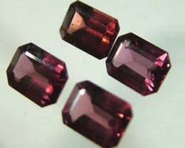 VS  RHODOLITE GARNET  4 PIECES 4.85CTS [S1676 ]