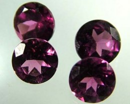 VS  RHODOLITE GARNET  4 PIECES  2.18CTS [S1630 ]