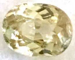 1.50ct Stunning Soft Yellow Zircon - beauty - VVS - TH80 F46