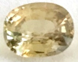 1.50ct Stunning Soft Yellow Zircon - beauty - VVS - TH81 F47