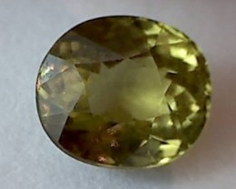 1.95ct Stunning Yellowish-Green Mali Garnet VVS TH86