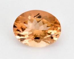1.6ct Peach Oval Sunstone (S2268)