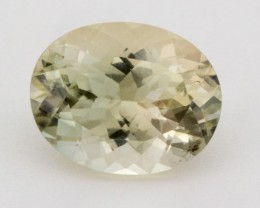 2.7ct Champagne Green Oval Oregon Sunstone (S1240)