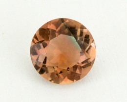 0.7ct Pink Green Round Oregon Sunstone (S1603)