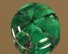 No Treatment Super Rare Columbian Trapiche Emerald 3.ct