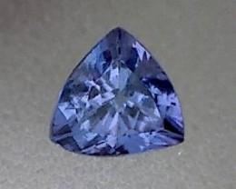 .85ct Sparkling Purpleish Blue Tanzanite Trillion VVS TH112