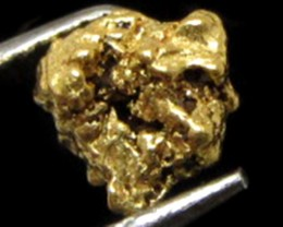 0.66 GRAMS  AUSTRALIAN  GOLD NUGGET    LGN 1202