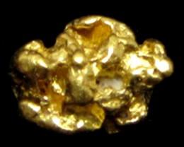 0.73 GRAMS  AUSTRALIAN  GOLD NUGGET    LGN 1225