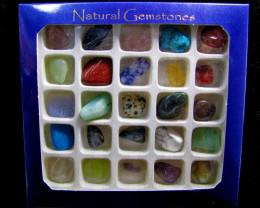 400 CTS TCW25  Gemstone Display  MYGM 1419