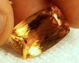 CERTIFIED - 23.70 Carat VVS1 Golden Calcite Beauty