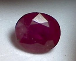 1.20ct Lovely UN TREATED Pinkish Red Ruby TH137