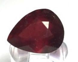 Stunning 2.65ct Red Pear Spessarite Garnet  TH140