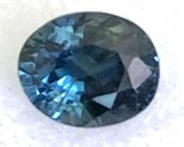 1.20ct Green-Blue Oval Parti Sapphire VVS Australia TH14