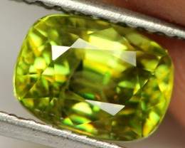 3.15 cts Yellow / Green Sphene (Titanite) (SPH1)
