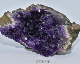 Amethyst Cluster, Urugauy (GR244)