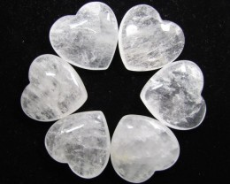 0.169 KILO SIX CRYSTAL  HEARTS GG 1554