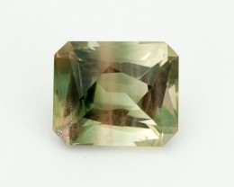 SALE WAS $1654 ~ 9.05ct Oregon Sunstone, Green Champagne Emerald Cut,  (S05