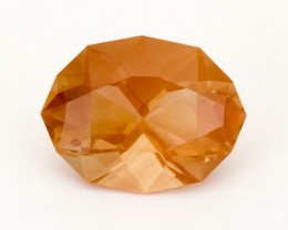 SALE WAS $6818 ~ 13.3ct. Oregon Sunstone, Peach Oval, (S31)