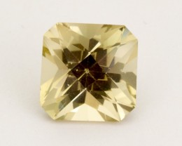 6.05ct Oregon Sunstone, Champagne Square Emerald, (S230)