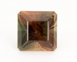 SALE WAS $6951 ~ 13.56ct Dichroic Square Step Oregon Sunstone (S305)