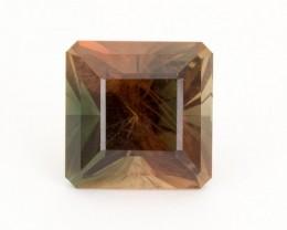 SALE WAS $6951 ~ 13.56ct Dichroic Square Step Oregon Sunstone (S305)