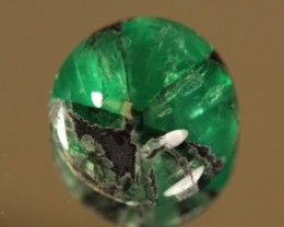 Rare Untreated Trapiche Emerald 4.739ct