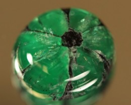 Rare Untreated Trapiche Emerald 5.376ct