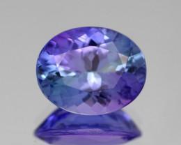 3.16Cts Violet Blue Tanzanite