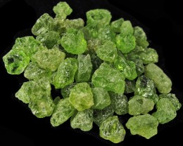 100 cts PERIDOT ROUGH PARCEL   [F4433]
