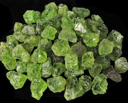 100 cts PERIDOT ROUGH PARCEL   [F4436]