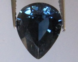 1.72cts Natural Australian Blue Sapphire Pear Cut
