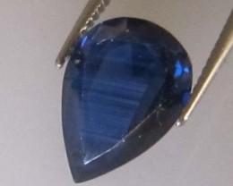 2.49cts Natural Australian Blue Sapphire Pear Cut