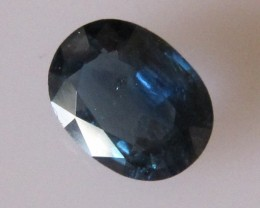 1.39cts Natural Australian Blue Sapphire Oval Cut