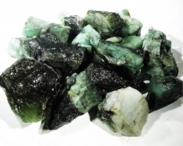 50 Grams Parcel  Brazil Emerald Rough RB01