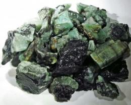 100 Grams Parcel  Brazil Emerald Rough RB03