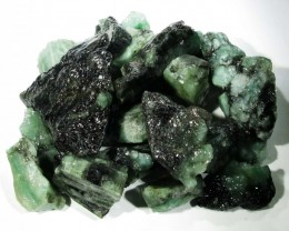 50 Grams Parcel  Brazil Emerald Rough RB09