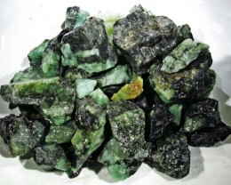 150 Grams Parcel  Brazil Emerald Rough RB13