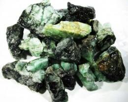 100 Grams Parcel  Brazil Emerald Rough RB23