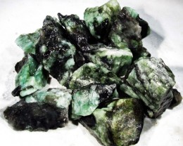 100 Grams Parcel  Brazil Emerald Rough RB37