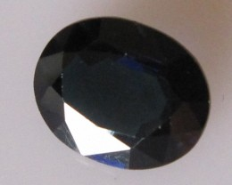 3.01cts Natural Australian Blue Sapphire Oval Cut
