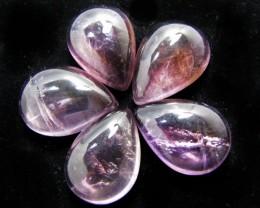 145 Cts parcel  5 Ametrine Cabchon Gemstones MYGM 1699