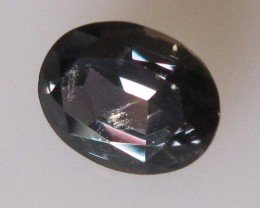 1.09cts Natural Australian Violetish/Blue Sapphire Oval Cut