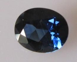 0.96cts Natural Australian Blue Sapphire Oval Cut