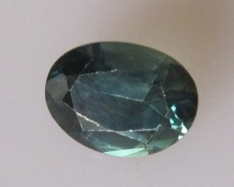 1.15cts Natural Australian Parti Sapphire Oval Cut