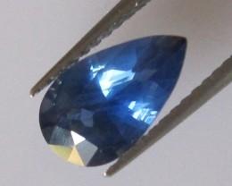 1.26cts Natural Australian Blue Sapphire Pear Cut
