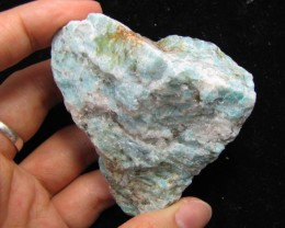 650 CTS SIBERIAN  AMAZONITE ROUGH  MYGM 1755